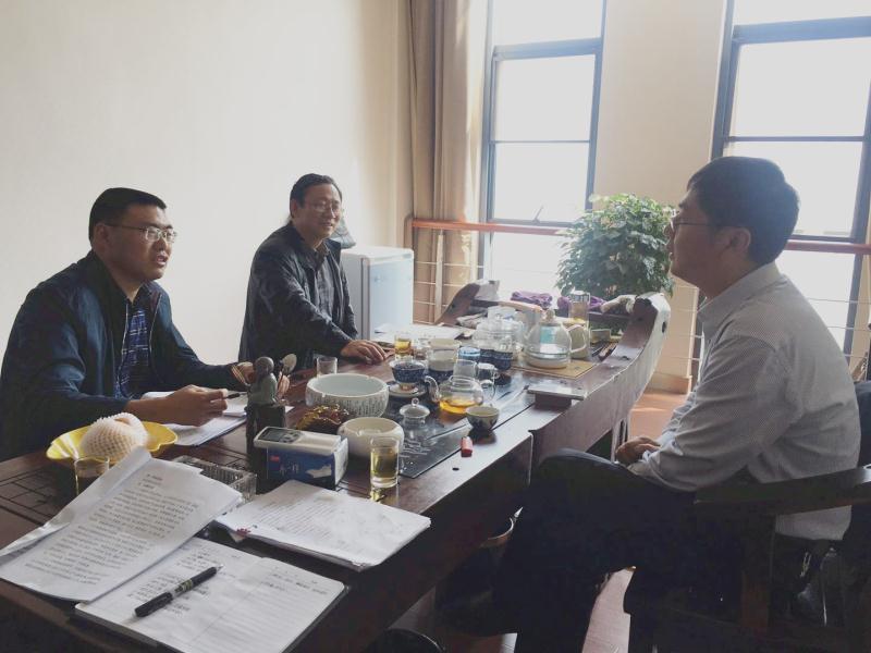 阳新法院走访企业服务经济发展